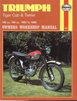 Triumph Tiger Cub & Terrier 149cc - 199cc 1952 - 1968 Workshop Manual