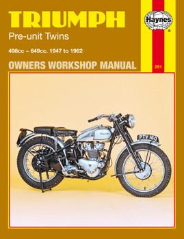 Triumph Pre-Unit Twins (47 - 62) Haynes Repair Manual