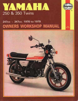 Yamaha 250 & 350 Twins 247cc, 350cc 1970 - 1979 Workshop Manual