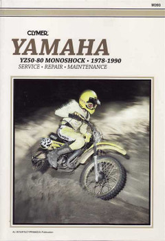 Yamaha YZ50, YZ60 & YZ80 1978 - 1990 Workshop Manual