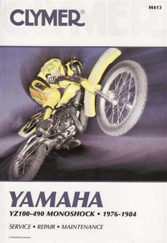 Yamaha YZ100 - 490 Monoshock 1976 - 1984  Workshop Manual