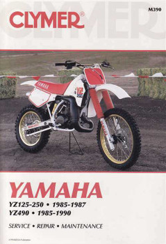 Yamaha YZ125, YZ250 & YZ490 1985 - 1990 Workshop Manual