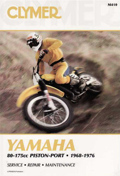 Yamaha 80 - 175cc Piston - Port 1968 - 1976 Workshop Manual