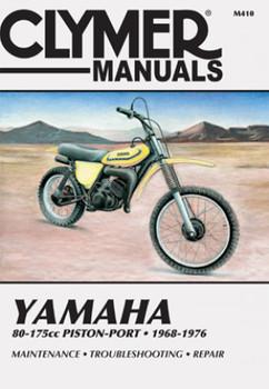 Yamaha 80-175cc Piston-Port Motorcycle (1968-1976) Service Repair Manual