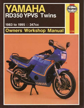 Yamaha RD350 YPVS Twins 347cc 1983 - 1995 Workshop Manual