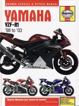 Yamaha YZF-R1 1998 - 2003 Workshop Manual