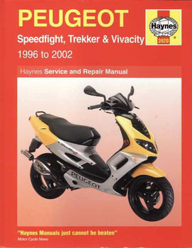Peugeot Scooters Speedfight, Trekker & Vivacity 1996 - 2002 Workshop Manual
