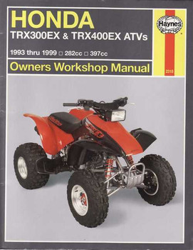 Honda TRX300EX & TRX400EX ATVs 1993 - 1999 Workshop Manual