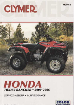 Honda TRX350 Rancher ATVs 2000 - 2006 Workshop Manual