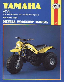 Yamaha ATVs 3 & 4-Wheelers, 2 & 4-Stroke engines 1980 - 1985 Workshop Ma