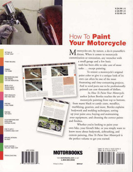 How To Paint Your Motorcycle