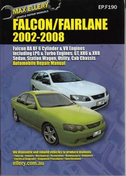 Ford Falcon, Fairlane, LTD BA - BF 2002 - 2008 workshop Manual