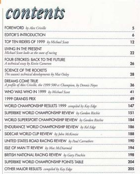 Motocourse 1999 - 2000 (24th Year Of Publication): Grand Prix, Superbike Annual