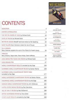 Motocourse 2003 - 2004 (28th Year Of Publication): Grand Prix, Superbike Annual