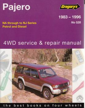 Mitsubishi Pajero NA NB NC ND NE NF NG NH NJ 1983 - 1996 Workshop Manual