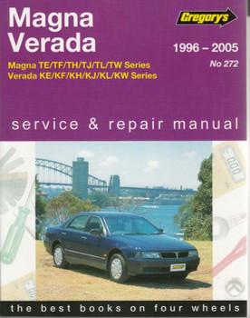 Mitsubishi Magna TE TF TH TJ TL TW and Verada KE KF KH KJ KL KW 1996 - 2005 Workshop Manual