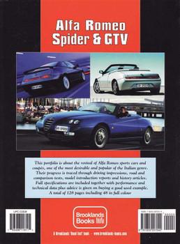 Alfa Romeo Spider & GTV Performance Portfolio 1995 - 2005