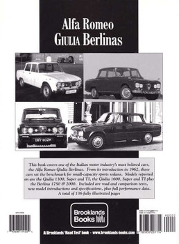 Alfa Romeo Giulia Berlinas Limited Edition Extra 1962 - 1976