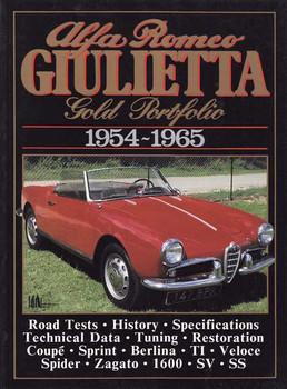 Alfa Romeo Giulietta Gold Portfolio 1954 - 1965