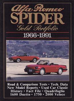 Alfa Romeo Spider Gold Portfolio 1966 - 1991