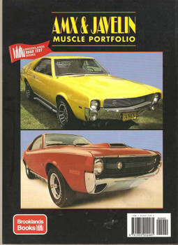 AMX & Javelin Muscle Portfolio 1968 - 1974
