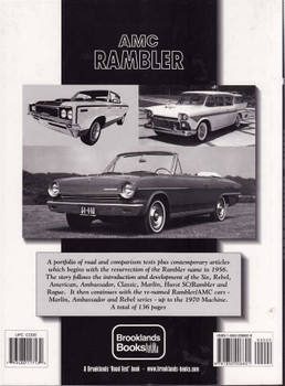 AMC Rambler Limited Edition Extra 1956 - 1969