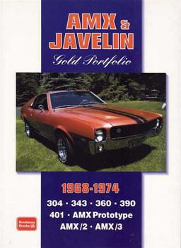 AMX & Javelin Gold Portfolio 1968 - 1974