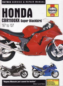 Honda CBR1100XX Super Blackbird 1997 - 2007 Workshop Manual