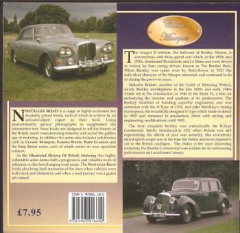 Bentley Motors 1945 - 1964: The Illustrated History Of British Motoring