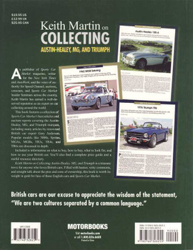Keith Martin on Collecting Austin-Healey, MG and Triumph