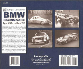 BMW Racing Cars: Type 328 To Le Mans V12