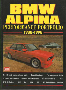 BMW Alpina Performance Portfolio 1988 - 1998