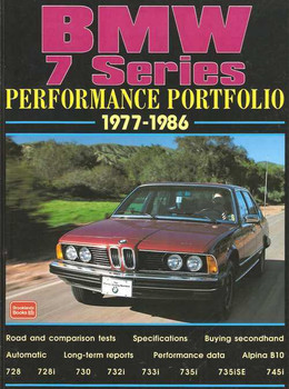 BMW 7 Series Performance Portfolio 1977 - 1986