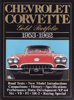 Chevrolet Corvette Gold Portfolio 1953 - 1962