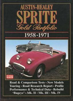 Austin Healey Sprite Gold Portfolio 1958 - 1971