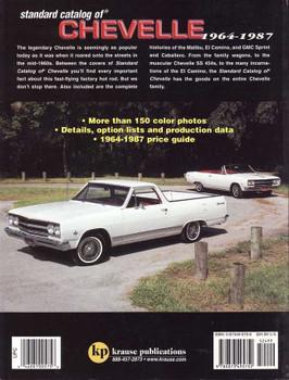 Standard Catalog of Chevelle 1964 - 1987: Malibu, El Camino & GMC Sprint
