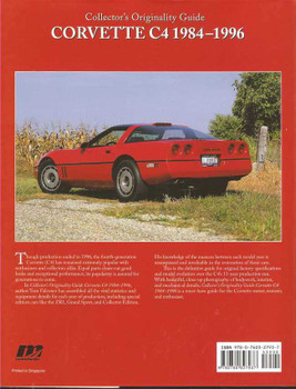 Collector's Originality Guide Corvette C4 1984 - 1996