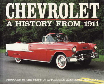 Chevrolet A History From 1911
