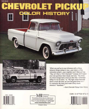 Chevrolet Pickup Color History