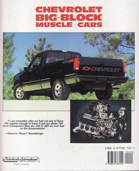 Chevrolet Big-Block Muscle Cars: Muscle Car Color History