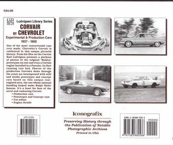 Corvair by Chevrolet: Experimental & Production Cars 1957 - 1969