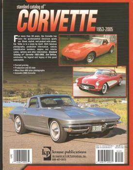 Standard Catalog Of Corvette 1953 - 2005 2nd Edition
