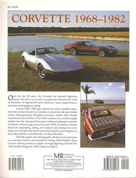 Corvette 1968 - 1982: Sports Car Color History