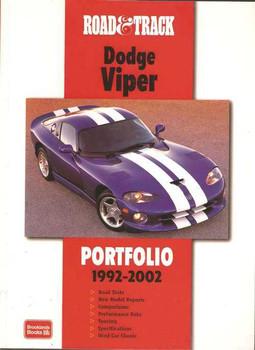 Road & Track On Dodge Viper Portfolio 1992 - 2002