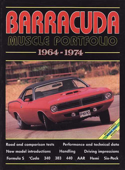 Barracuda Muscle Portfolio 1964 - 1974
