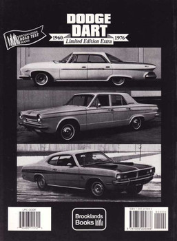 Dodge Dart 1960 - 1976: Limited Edition Extra