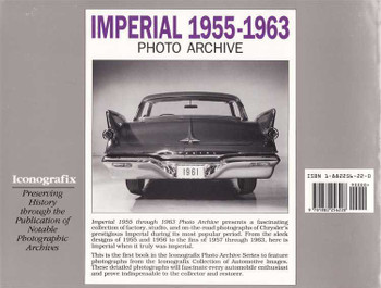 Imperial 1955 - 1963 Photo Archive