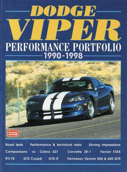 Dodge Viper Performance Portfolio 1990 - 1998