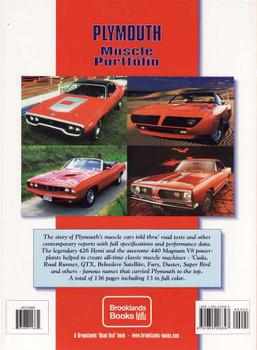 Plymouth Muscle Portfolio 1964 - 1971