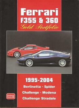 Ferrari F355 & 360 Gold Portfolio 1995 - 2004